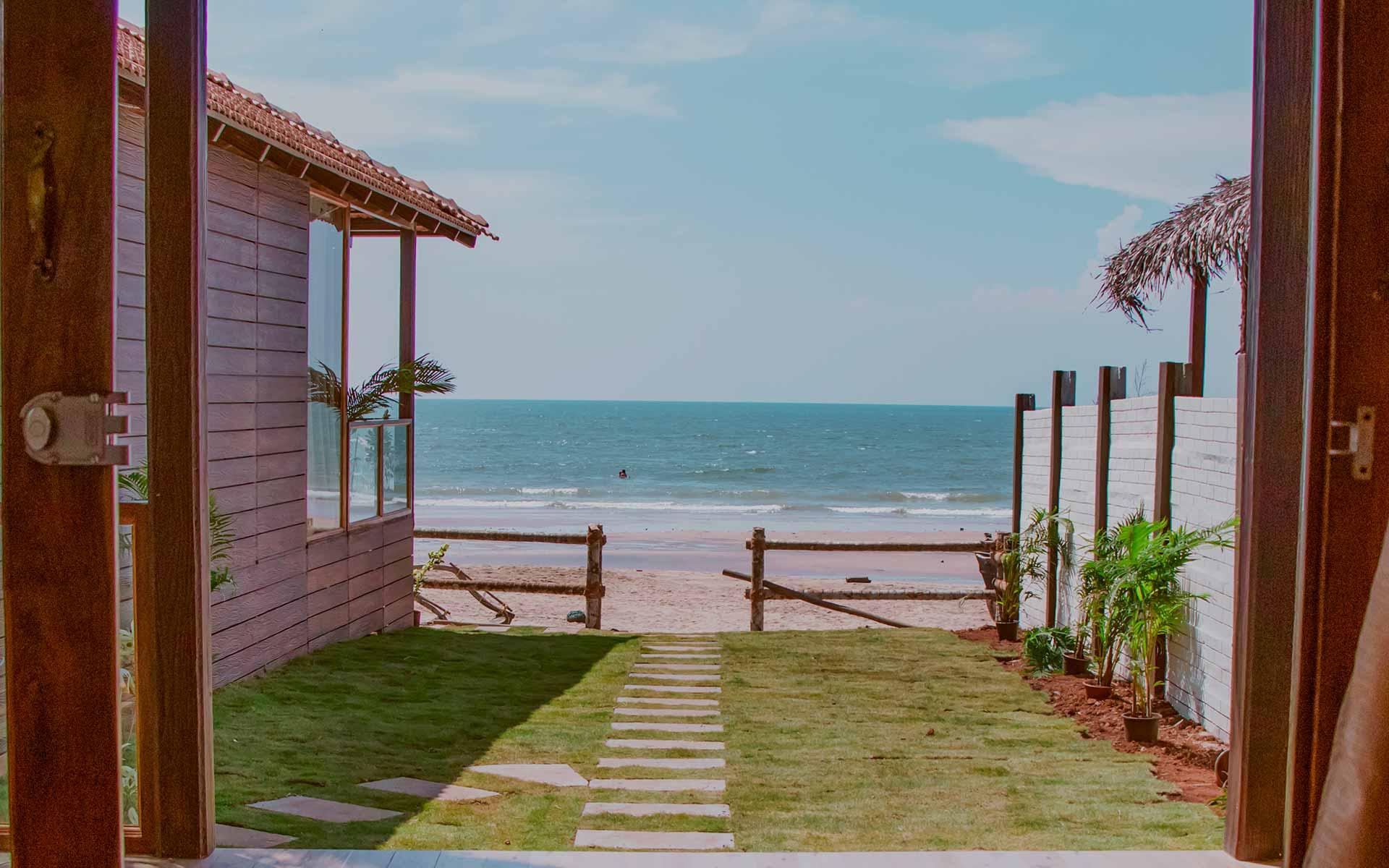 agonda beach villa